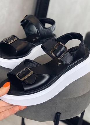 Босоножки сандали натуральная кожа