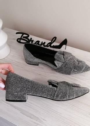 Стильные туфли  лоферы балетки слипоны