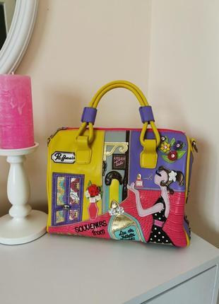 Яркая, модная сумка brcociolini bln