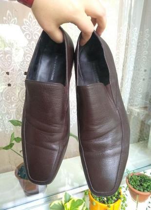Кожаные туфли 42 размер 28-28,7 см