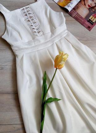 Красивенна сукня з мереживом, тканина дайвінг, великий розмір💖