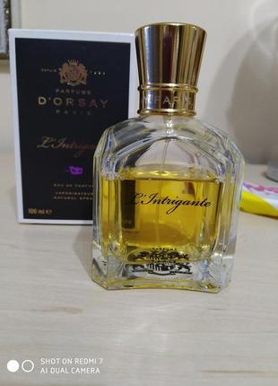 D'orsay l'intrigante нишевый аромат,100 мл, оригинал!