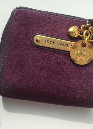 Велюровый кошелёк juicy couture оригинал