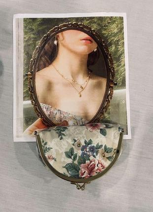 Потрясающая косметичка с цветочным принтом