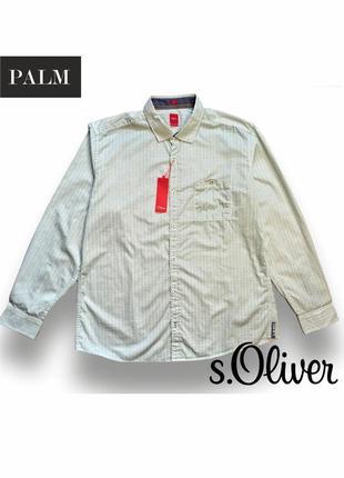 Хлопковая мужская рубашка s.oliver