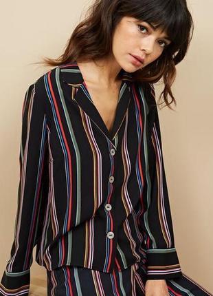 Распродажа!!! актуальная трендовая блуза в полоску №185