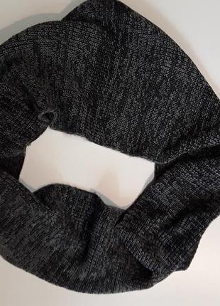 Фирменный снуд шарф