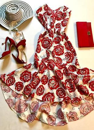 Обалденное платье бренда kriss . англия 🏴