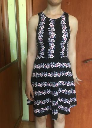 Платье сарафан мягкая ткань