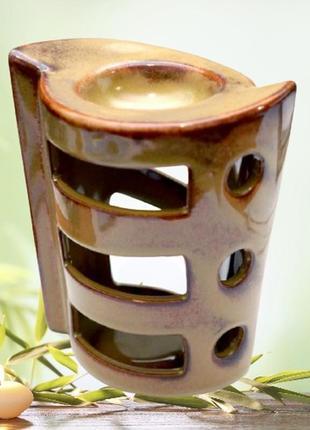Аромалампа керамическая спираль
