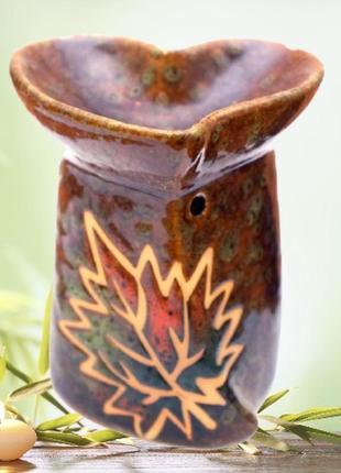 Аромалампа керамическая осень