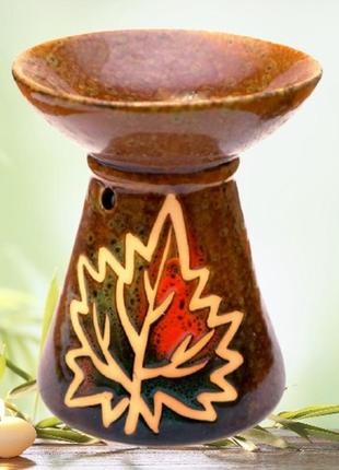 Аромалампа керамическая осень №4