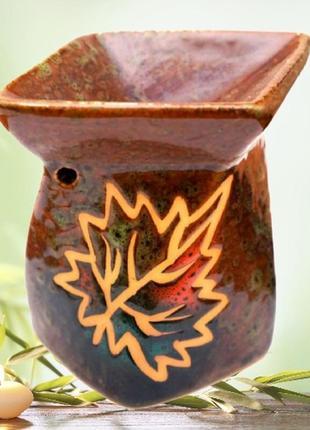 Аромалампа керамическая осень №5