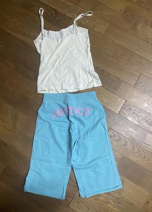 Пижама шорты и майка2 фото