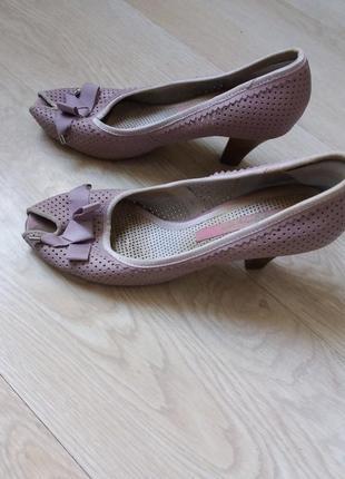 Туфли летние с бахромой, р.382 фото