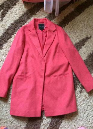 Стильное пальто бойфренд размер м