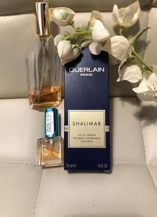 Guerlain shalimar, eua de parfum (сменный блок)