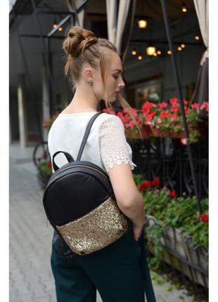 Жіночий рюкзак sambag brix kzn черный женский рюкзак черный