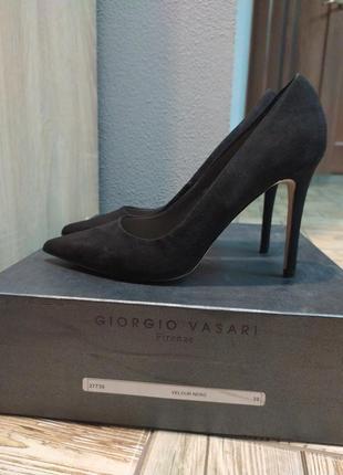 Замшевые туфли лодочки asos,новые.39-40(7) размер