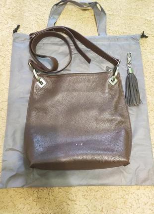 Супер цена 700 грн  до 30.09.21. сумка женская тм vif выполнена из натуральной кожи.