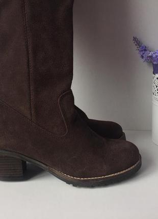 ... Жіночі демосезонні замшеві чоботи  c810421354b62