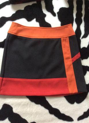 Классная юбка promod из джерси