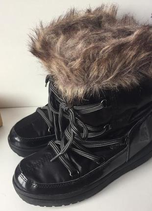 Жіночі зимові чобітки (сапоги, дутіки,луноходи, уггі ) crane (німеччина)