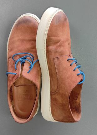 Итальянские pierroni туфли нубук
