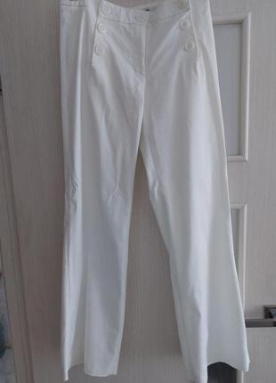 Широкие котоновие брюки