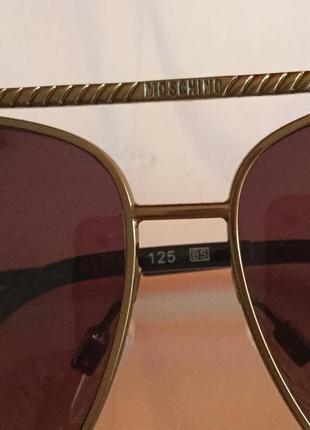 Сонцезахисні окуляри від італійського бренду 🇮🇹🇮🇹🇮🇹🇮🇹moschino2 фото