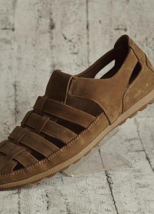 Мужские туфли-лето (стильные,удобные,кожаные)