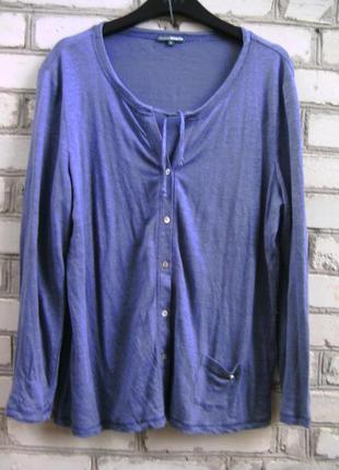 Льняная блузка для шикарных девушек.