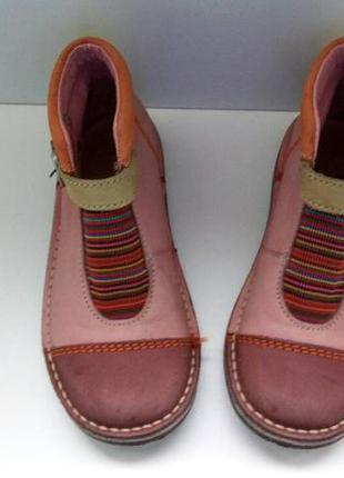 Ботинки kickers, р. 28-29. кожа натур.2