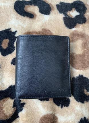 Мужской кошелёк кожа