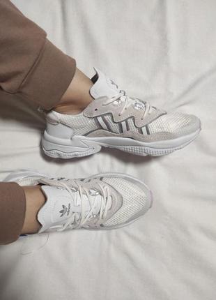 Женские кроссовки adidas ozweego(37-41р)наложенный платеж
