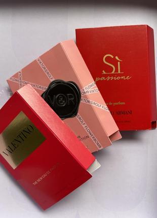 Набір парфумів/пробники духів/елітна парфумерія/солодкі аромати/шлейфові парфуми