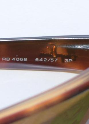 Солнцезащитные очки, окуляри ray-ban 4068 642/57, оригинал.5 фото
