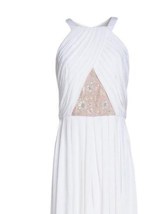 Дизайнерское шикарное платье от mikael aghal