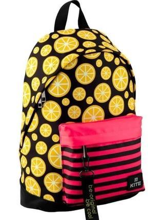 Рюкзак для города kite city с лимонами