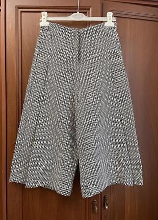 Кюлоты укороченные брюки шорты штаны как zara mango maje