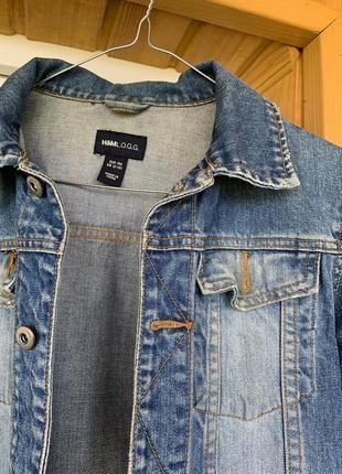 Джинсова куртка від hm