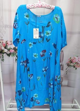 Новое итальянское платье в стиле бохо