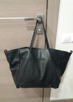 Большая сумка шоппер от zara