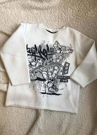Свитшот на мальчика, свитер
