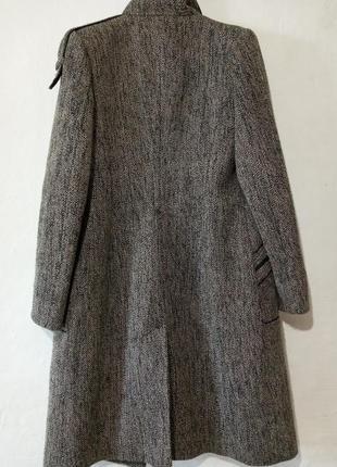 Шикарное пальто с люрексом