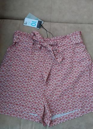 Женские летние шорти с поясом новые