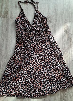 Актуальный сарафан платье леопард 🐆