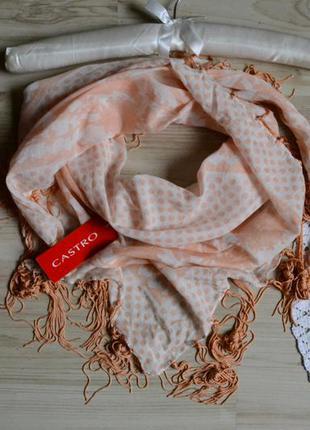 Платок шарф котоновий castro