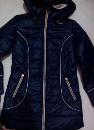 Женская удлиненная  демисезонная куртка!