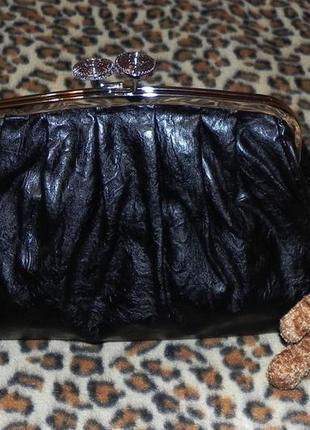 Удобная качественная мягенькая женская сумочка клатч